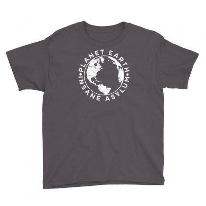 Earth Asylum Youth Tee Designed By Chilistore
