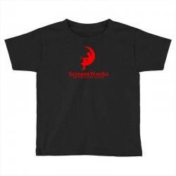 ScreamWorks Toddler T-shirt   Artistshot