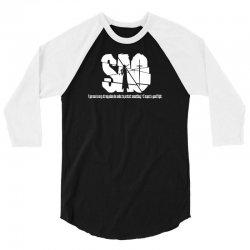 Sword Art Online abbreviated tee 3/4 Sleeve Shirt | Artistshot
