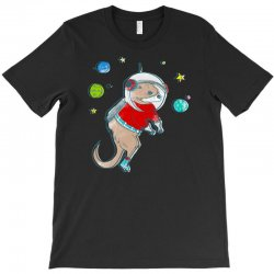 in otter space, only otters can hear you scream T-Shirt | Artistshot