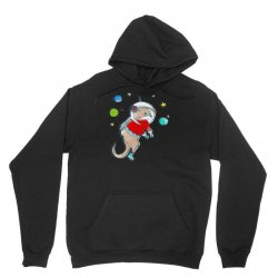 in otter space, only otters can hear you scream Unisex Hoodie | Artistshot