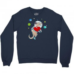 in otter space, only otters can hear you scream Crewneck Sweatshirt | Artistshot