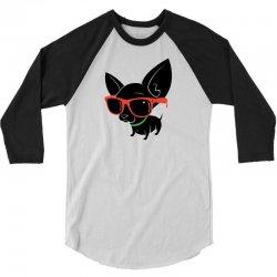julio the chihuahua 3/4 Sleeve Shirt | Artistshot