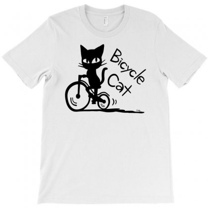 Bicycle Cat T-shirt Designed By Specstore