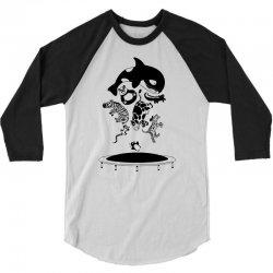 Bouncing Animals 3/4 Sleeve Shirt | Artistshot