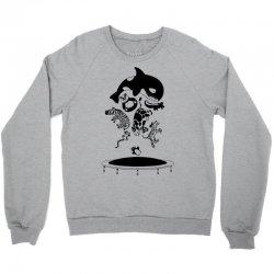 Bouncing Animals Crewneck Sweatshirt | Artistshot