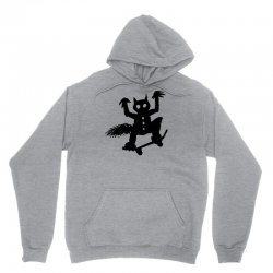 wild thing on a skateboard Unisex Hoodie | Artistshot