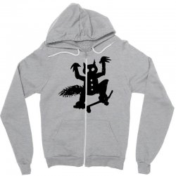 wild thing on a skateboard Zipper Hoodie | Artistshot