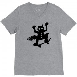 wild thing on a skateboard V-Neck Tee | Artistshot