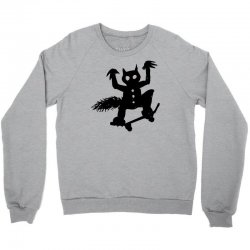 wild thing on a skateboard Crewneck Sweatshirt | Artistshot