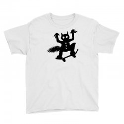 wild thing on a skateboard Youth Tee | Artistshot