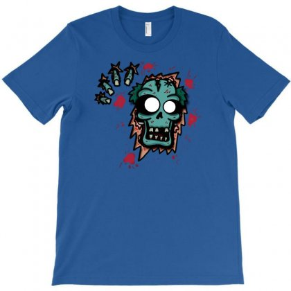 Zombie Bustin Out T-shirt Designed By Chilistore