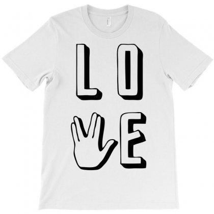 Love Long And Prosper T-shirt Designed By Ditreamx