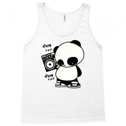 Hip Hop Panda Tank Top Designed By Thesamsat