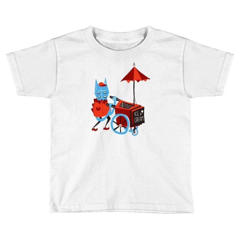 30d635053 Custom Ice Cream Beastie Toddler T-shirt By Thesamsat - Artistshot