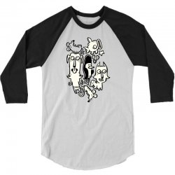 Love Your Pets 3/4 Sleeve Shirt | Artistshot