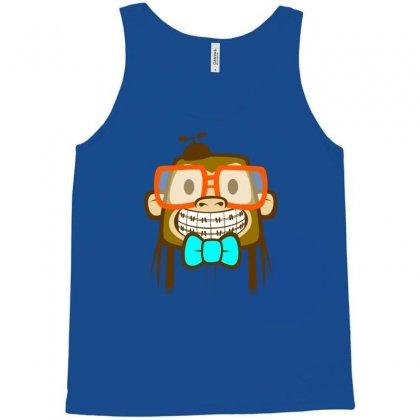 Geek Monkey Tank Top Designed By Chilistore