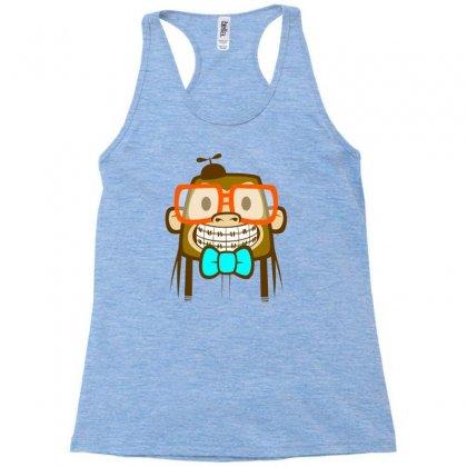 Geek Monkey Racerback Tank Designed By Chilistore