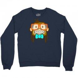 geek monkey Crewneck Sweatshirt | Artistshot