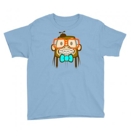 Geek Monkey Youth Tee Designed By Chilistore