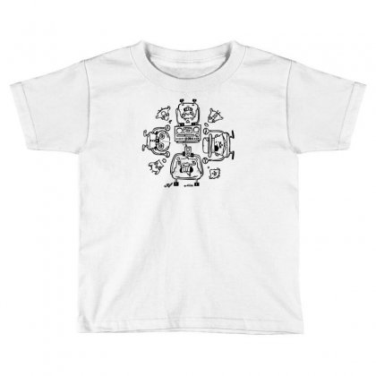 Piggy Affection Toddler T-shirt Designed By Thesamsat