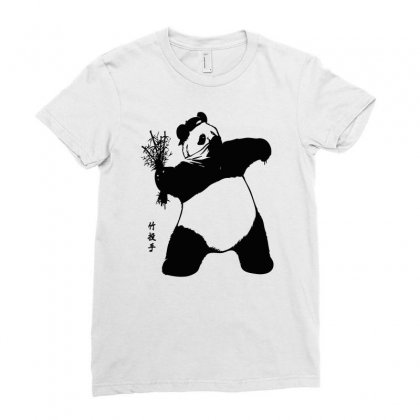 Bamboo Thrower Ladies Fitted T-shirt Designed By Thesamsat
