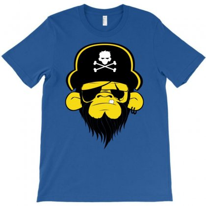 Pirate Monkey T-shirt Designed By Chilistore