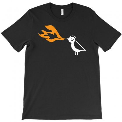 Piu Piu Fire Breath T-shirt Designed By Chilistore