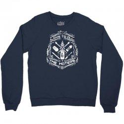 Love to all the haters Crewneck Sweatshirt | Artistshot