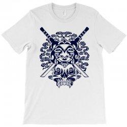 Samurai Mask and Skull T-Shirt | Artistshot