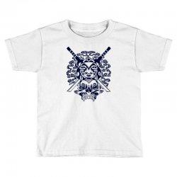 Samurai Mask and Skull Toddler T-shirt | Artistshot