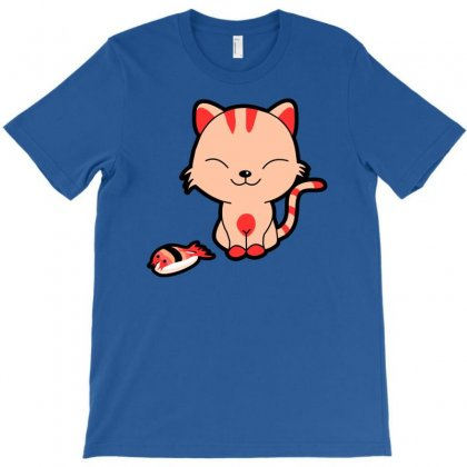 Sushi Kitty T-shirt Designed By Chilistore