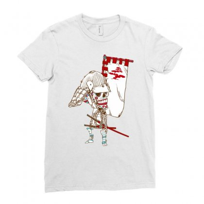 Dead Sugar Samurai Ladies Fitted T-shirt Designed By Specstore