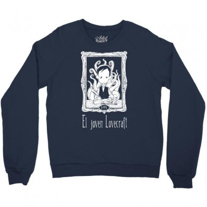 El Joven Lovecraft Crewneck Sweatshirt Designed By Specstore