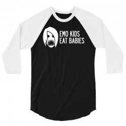 Emo Kids Eat Babies 3/4 Sleeve Shirt | Artistshot