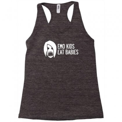 Emo Kids Eat Babies Racerback Tank Designed By Specstore