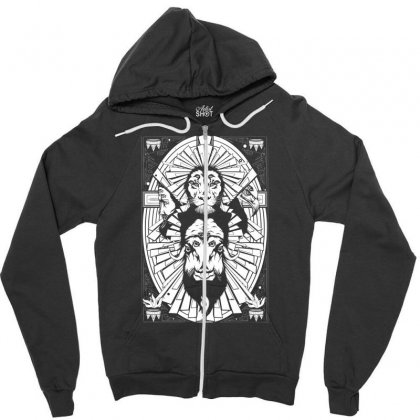Eye Of The King Zipper Hoodie Designed By Specstore