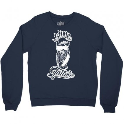 Fame Tattoo Crewneck Sweatshirt Designed By Specstore