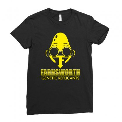 Farnsworth Genetic Replicants Ladies Fitted T-shirt Designed By Specstore
