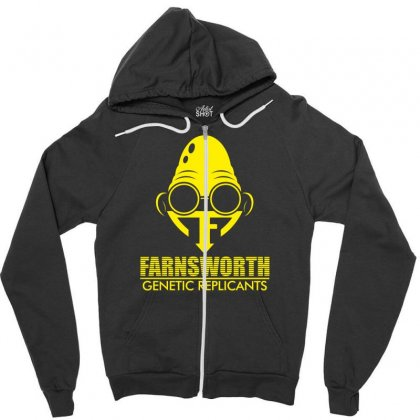 Farnsworth Genetic Replicants Zipper Hoodie Designed By Specstore
