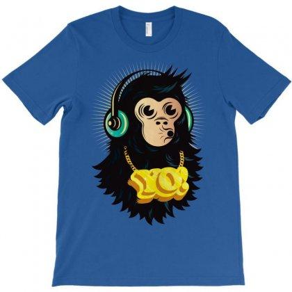Yo Monkey T-shirt Designed By Chilistore