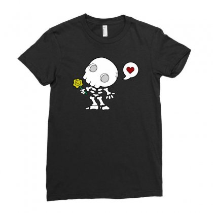 Amor De Los Muertos Ladies Fitted T-shirt Designed By Chilistore