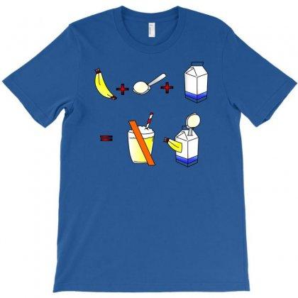 Banana Milkshake T-shirt Designed By Chilistore