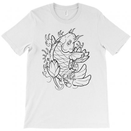 Goldfish Of Heaven T-shirt Designed By Specstore