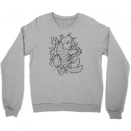 Goldfish Of Heaven Crewneck Sweatshirt Designed By Specstore
