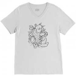 Goldfish Of Heaven V-Neck Tee | Artistshot