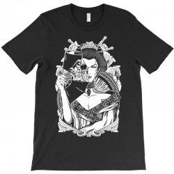 Half Dead Geisha T-Shirt | Artistshot