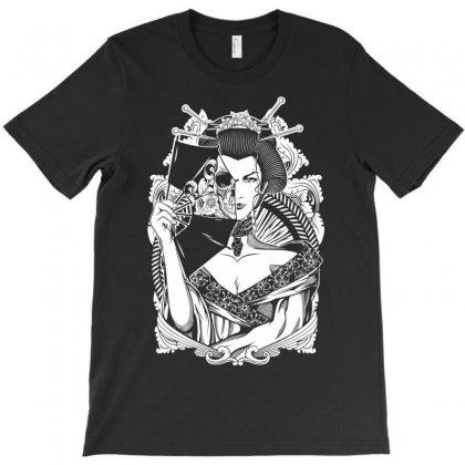 Half Dead Geisha T-shirt Designed By Specstore