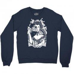 Half Dead Geisha Crewneck Sweatshirt | Artistshot