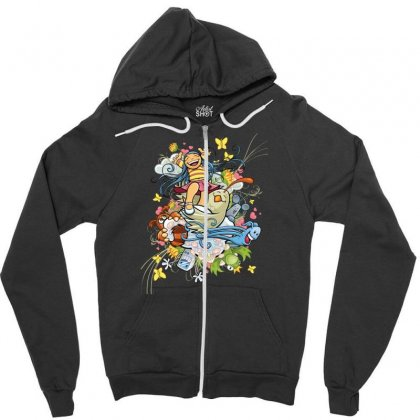 Happy Day Adventure Zipper Hoodie Designed By Specstore